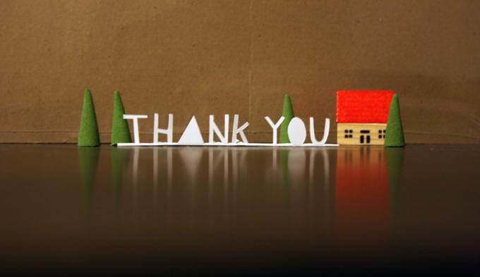 gratitude thank you
